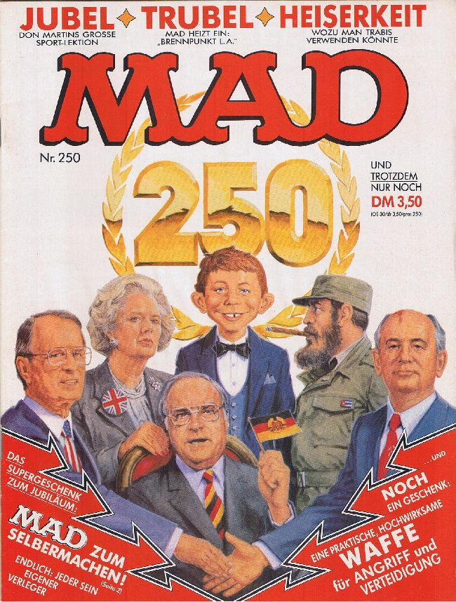MAD Magazine #250 • Germany • 1st Edition - Williams