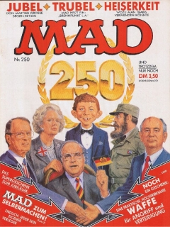 Go to MAD Magazine #250 • Germany • 1st Edition - Williams