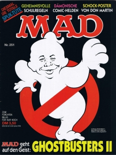 Go to MAD Magazine #251 • Germany • 1st Edition - Williams