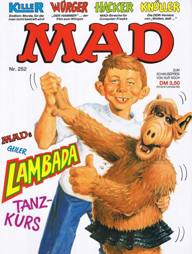 MAD Magazine #252 • Germany • 1st Edition - Williams