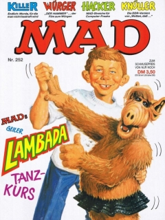 Go to MAD Magazine #252 • Germany • 1st Edition - Williams