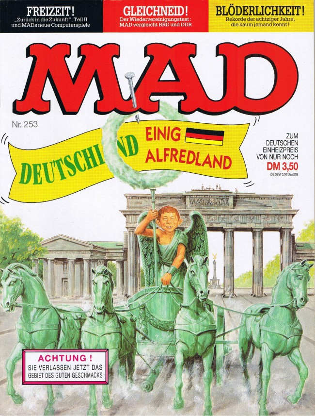 MAD Magazine #253 • Germany • 1st Edition - Williams