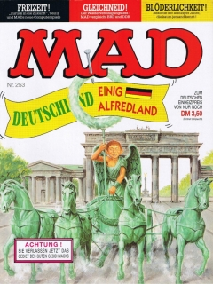 Go to MAD Magazine #253 • Germany • 1st Edition - Williams