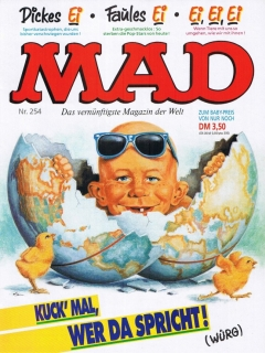 Go to MAD Magazine #254 • Germany • 1st Edition - Williams
