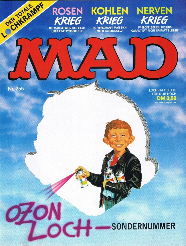 MAD Magazine #255 • Germany • 1st Edition - Williams