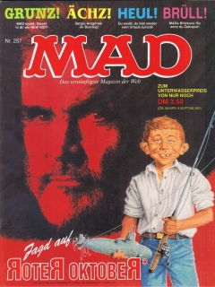 MAD Magazine #257 • Germany • 1st Edition - Williams