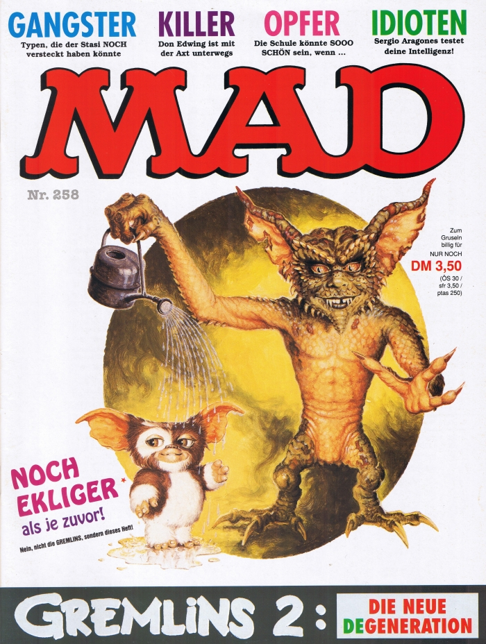 MAD Magazine #258 • Germany • 1st Edition - Williams