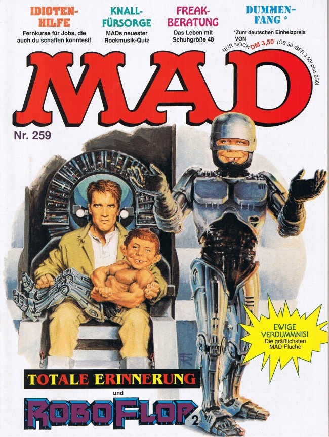 MAD Magazine #259 • Germany • 1st Edition - Williams