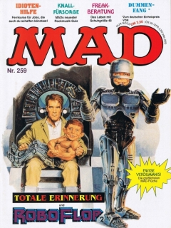 Go to MAD Magazine #259 • Germany • 1st Edition - Williams