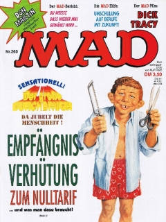 Go to MAD Magazine #260 • Germany • 1st Edition - Williams