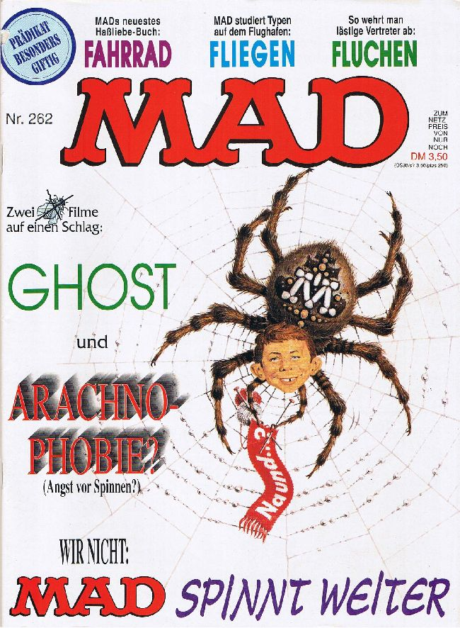 MAD Magazine #262 • Germany • 1st Edition - Williams