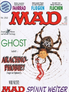 Go to MAD Magazine #262 • Germany • 1st Edition - Williams