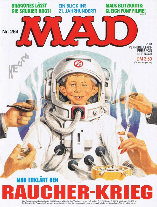 MAD Magazine #264 • Germany • 1st Edition - Williams