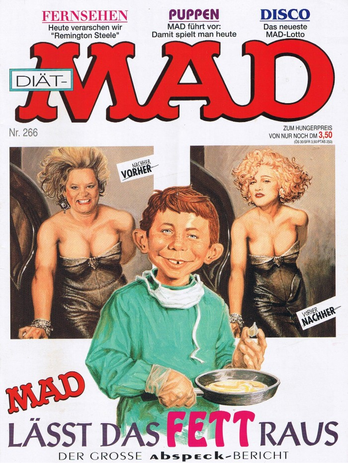 MAD Magazine #266 • Germany • 1st Edition - Williams