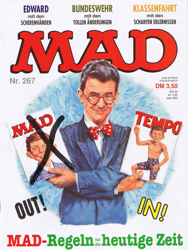 MAD Magazine #267 • Germany • 1st Edition - Williams