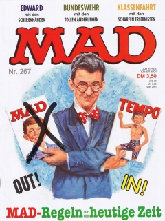 Go to MAD Magazine #267 • Germany • 1st Edition - Williams