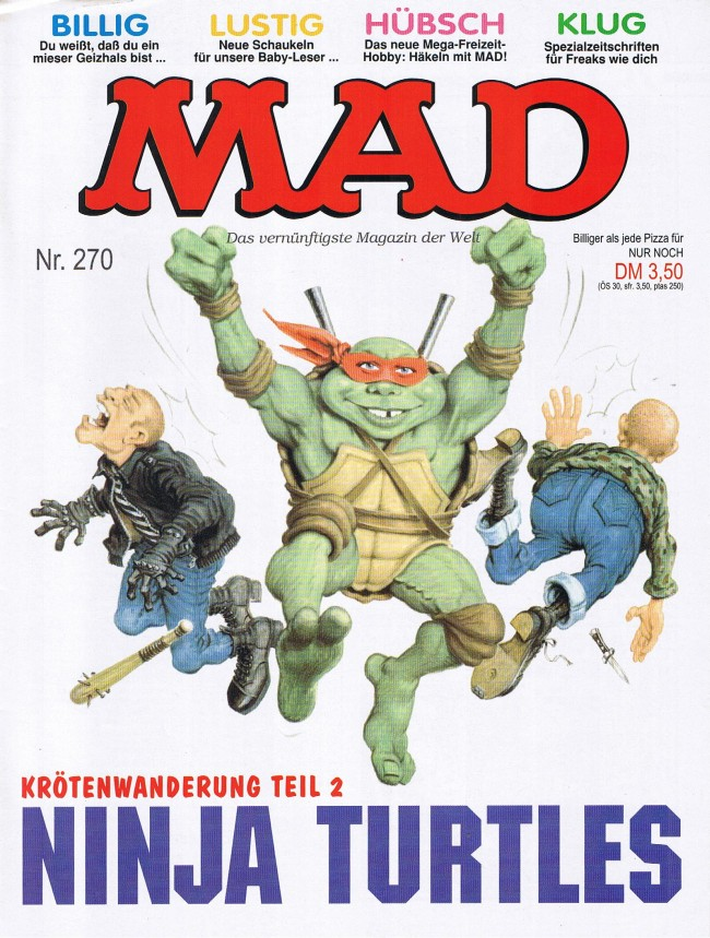 MAD Magazine #270 • Germany • 1st Edition - Williams