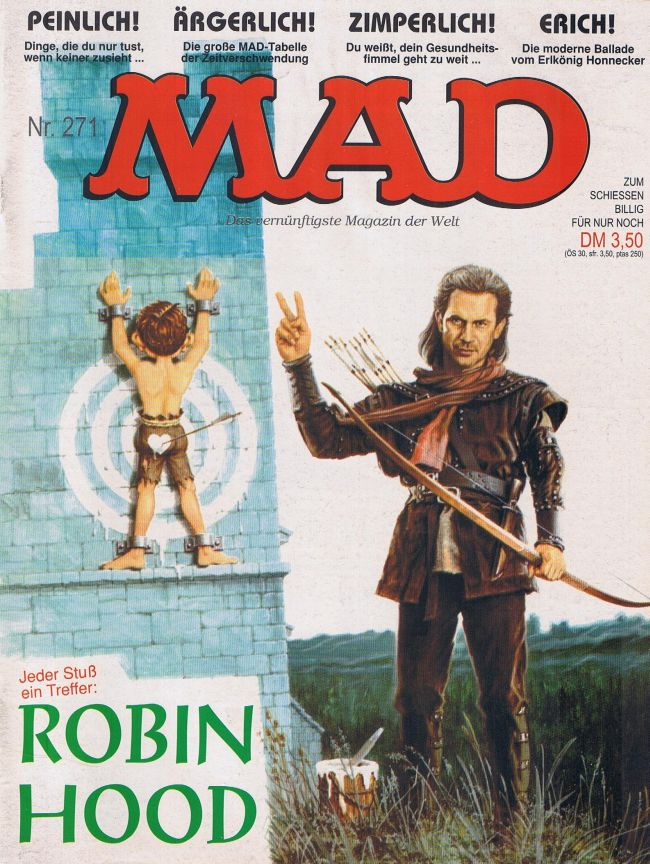 MAD Magazine #271 • Germany • 1st Edition - Williams