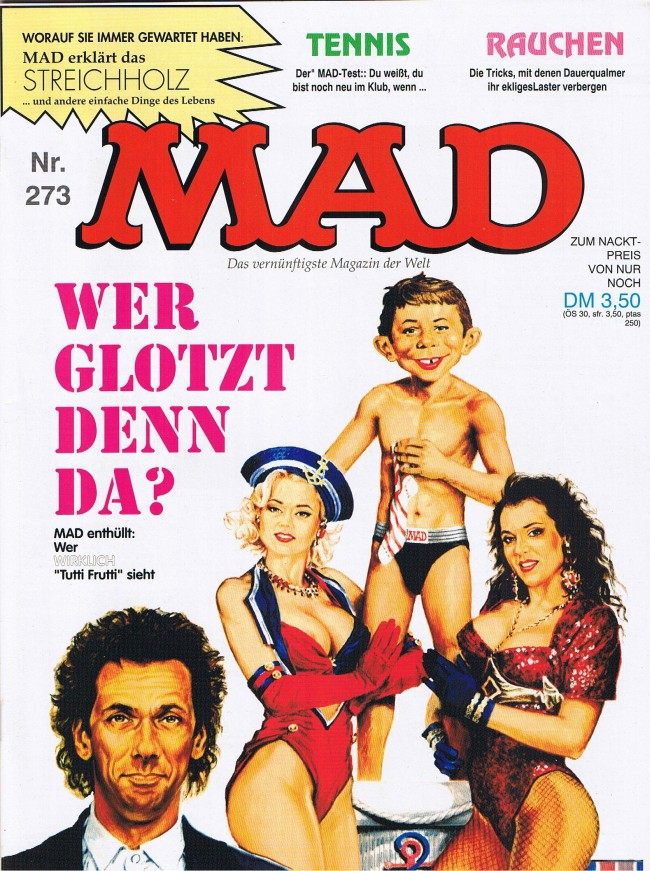 MAD Magazine #273 • Germany • 1st Edition - Williams