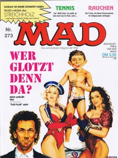 Go to MAD Magazine #273 • Germany • 1st Edition - Williams