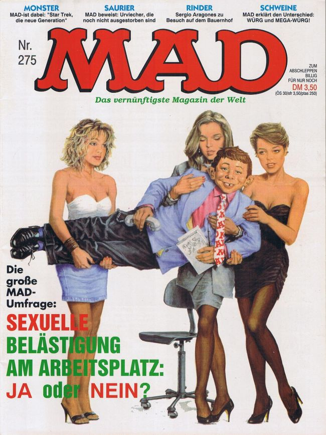 MAD Magazine #275 • Germany • 1st Edition - Williams