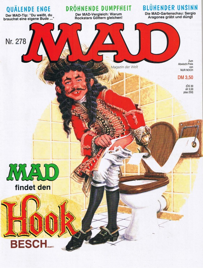 MAD Magazine #278 • Germany • 1st Edition - Williams