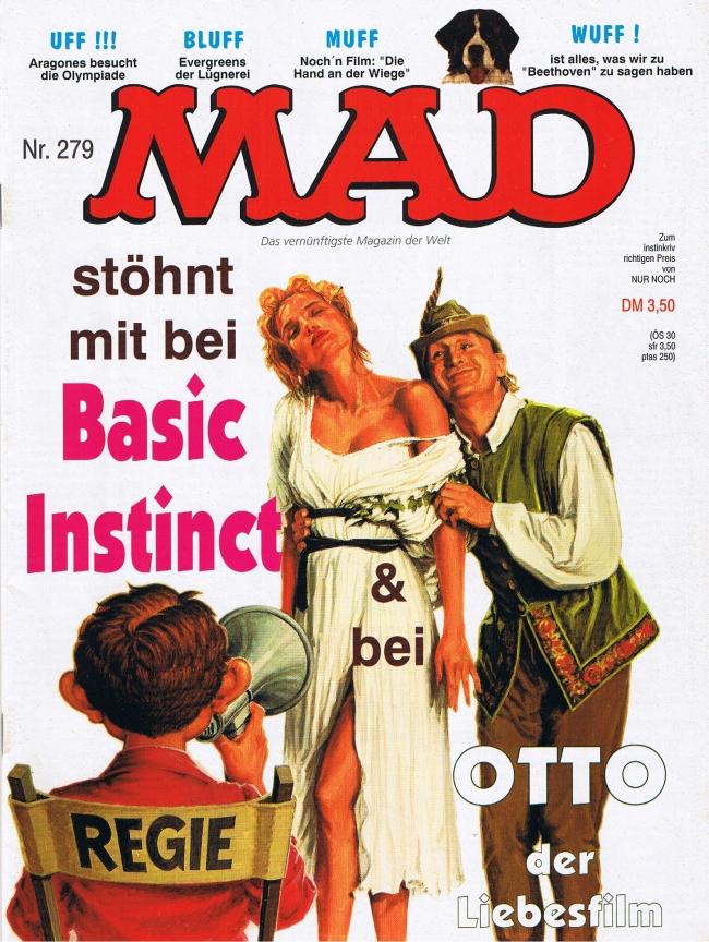 MAD Magazine #279 • Germany • 1st Edition - Williams