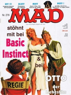 Go to MAD Magazine #279 • Germany • 1st Edition - Williams