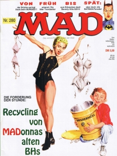 Go to MAD Magazine #280 • Germany • 1st Edition - Williams
