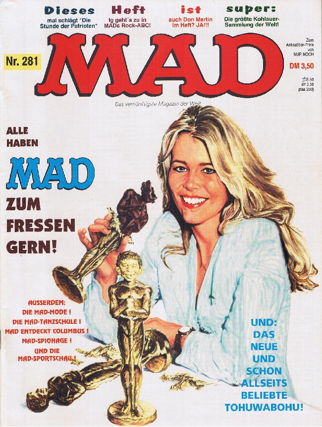 MAD Magazine #281 • Germany • 1st Edition - Williams