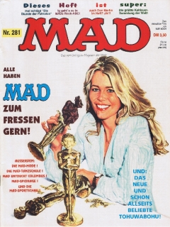 Go to MAD Magazine #281 • Germany • 1st Edition - Williams