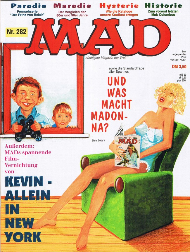 MAD Magazine #282 • Germany • 1st Edition - Williams