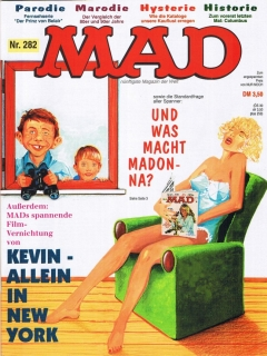 Go to MAD Magazine #282 • Germany • 1st Edition - Williams