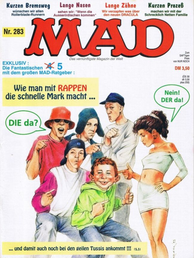 MAD Magazine #283 • Germany • 1st Edition - Williams