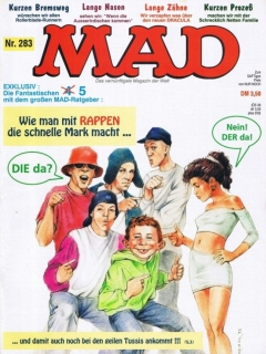 Go to MAD Magazine #283 • Germany • 1st Edition - Williams