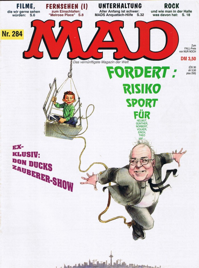 MAD Magazine #284 • Germany • 1st Edition - Williams