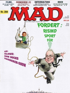 Go to MAD Magazine #284 • Germany • 1st Edition - Williams