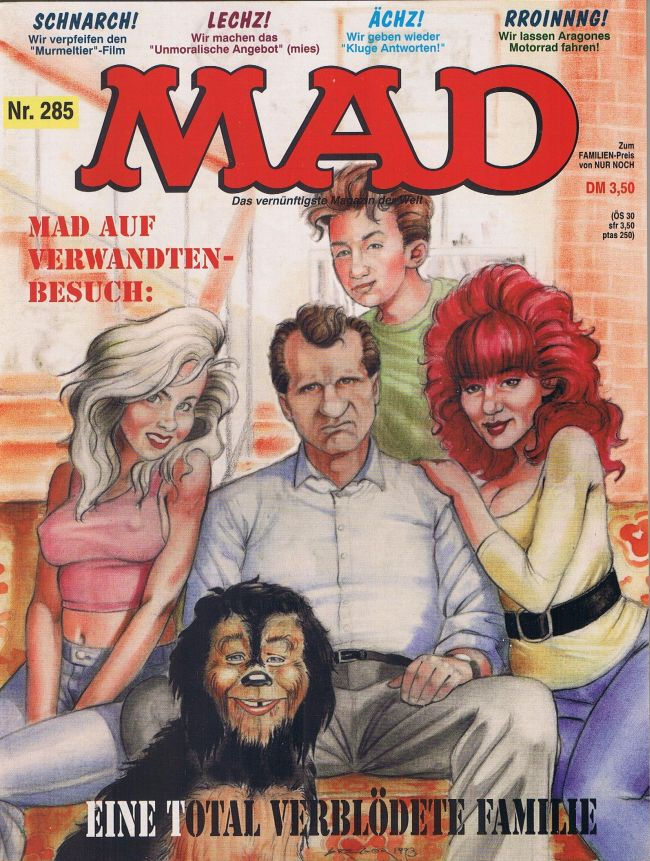MAD Magazine #285 • Germany • 1st Edition - Williams