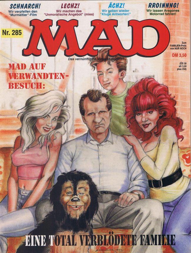 MAD Magazine #285 • Germany • 1st Edition - Williams