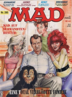 Go to MAD Magazine #285 • Germany • 1st Edition - Williams