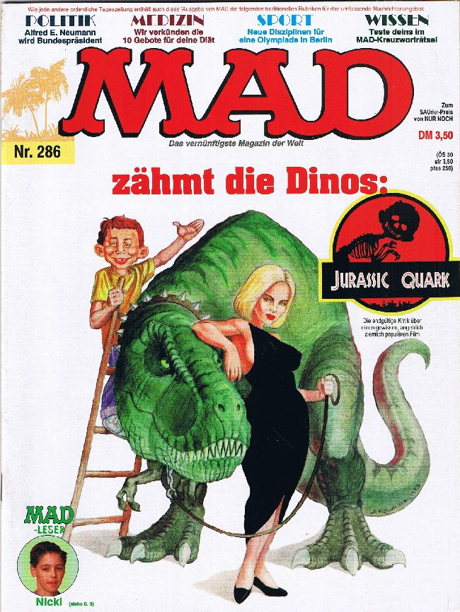 MAD Magazine #286 • Germany • 1st Edition - Williams