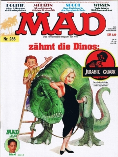 Go to MAD Magazine #286 • Germany • 1st Edition - Williams