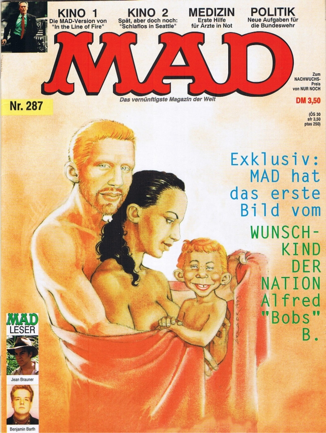 MAD Magazine #287 • Germany • 1st Edition - Williams