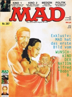 Go to MAD Magazine #287 • Germany • 1st Edition - Williams