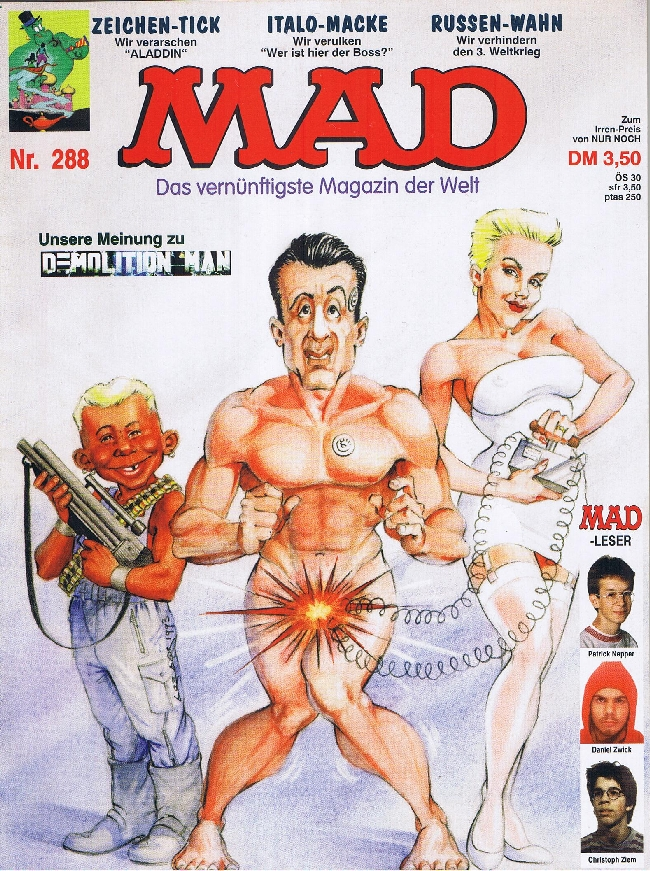 MAD Magazine #288 • Germany • 1st Edition - Williams