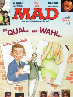 MAD Magazine #289 • Germany • 1st Edition - Williams