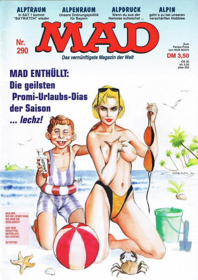MAD Magazine #290 • Germany • 1st Edition - Williams