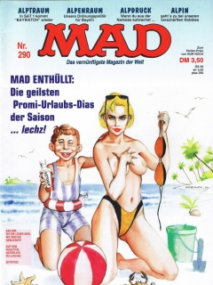 Go to MAD Magazine #290 • Germany • 1st Edition - Williams