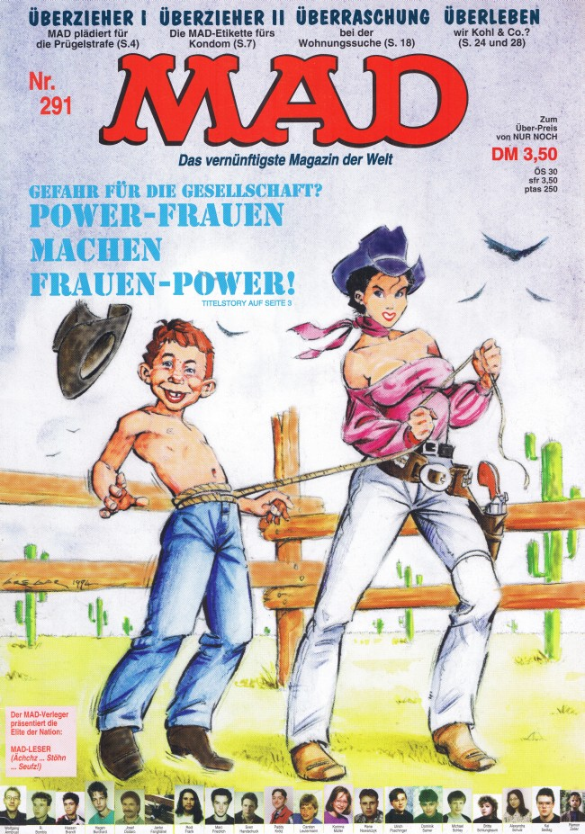 MAD Magazine #291 • Germany • 1st Edition - Williams