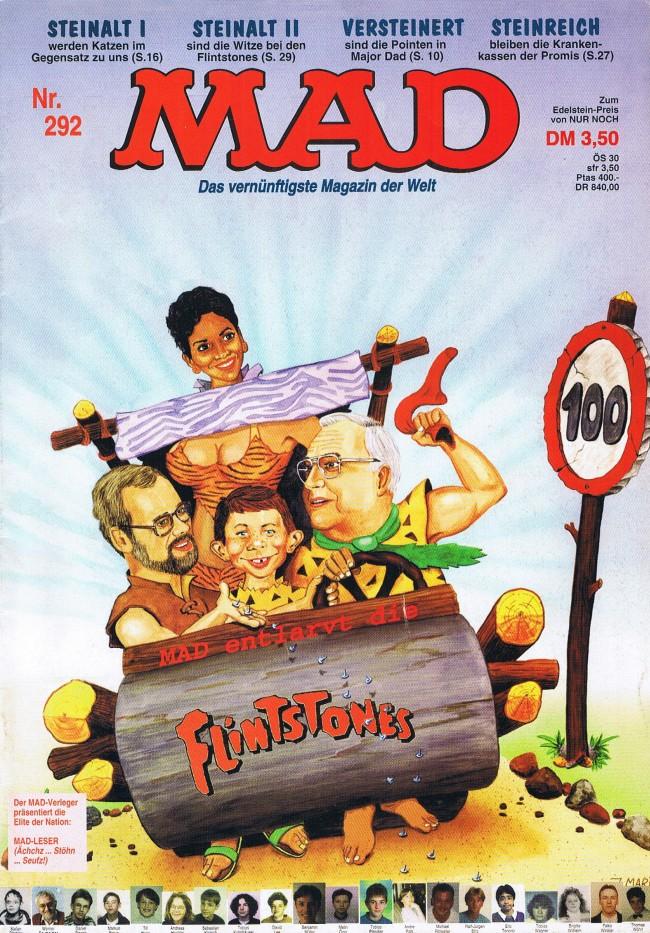 MAD Magazine #292 • Germany • 1st Edition - Williams